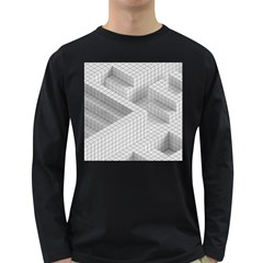 Design Grafis Pattern Long Sleeve Dark T Shirts