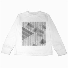 Design Grafis Pattern Kids Long Sleeve T Shirts