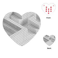 Design Grafis Pattern Playing Cards (heart)