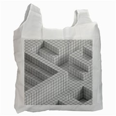 Design Grafis Pattern Recycle Bag (two Side)