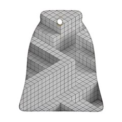 Design Grafis Pattern Bell Ornament (two Sides)