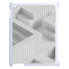 Design Grafis Pattern Apple iPad 2 Case (White)
