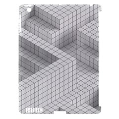 Design Grafis Pattern Apple iPad 3/4 Hardshell Case (Compatible with Smart Cover)
