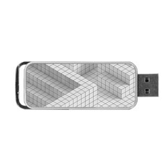 Design Grafis Pattern Portable Usb Flash (one Side)