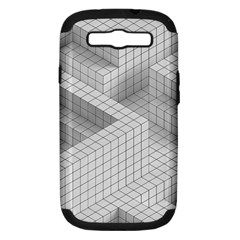 Design Grafis Pattern Samsung Galaxy S III Hardshell Case (PC+Silicone)