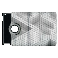 Design Grafis Pattern Apple iPad 2 Flip 360 Case