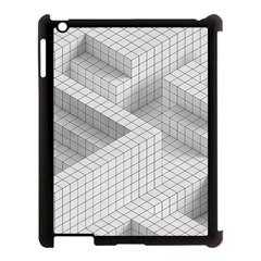 Design Grafis Pattern Apple iPad 3/4 Case (Black)