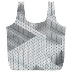 Design Grafis Pattern Full Print Recycle Bags (L)