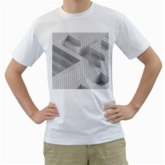 Design Grafis Pattern Men s T-Shirt (White)