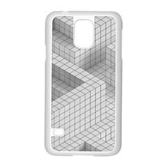 Design Grafis Pattern Samsung Galaxy S5 Case (White)