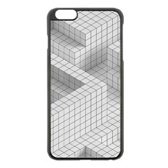 Design Grafis Pattern Apple iPhone 6 Plus/6S Plus Black Enamel Case