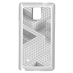 Design Grafis Pattern Samsung Galaxy Note 4 Case (White)