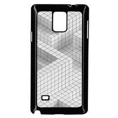 Design Grafis Pattern Samsung Galaxy Note 4 Case (Black)