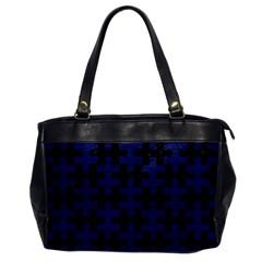 PUZ1 BK-MRBL BL-LTHR Office Handbags