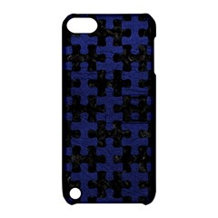 PUZ1 BK-MRBL BL-LTHR Apple iPod Touch 5 Hardshell Case with Stand