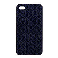HXG1 BK-MRBL BL-LTHR Apple iPhone 4/4s Seamless Case (Black)