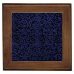 DMS2 BK-MRBL BL-LTHR Framed Tiles