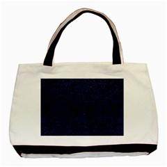 DMS2 BK-MRBL BL-LTHR Basic Tote Bag (Two Sides)