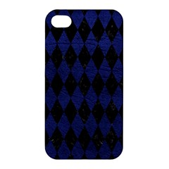 DIA1 BK-MRBL BL-LTHR Apple iPhone 4/4S Premium Hardshell Case