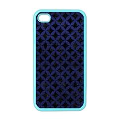 CIR3 BK-MRBL BL-LTHR Apple iPhone 4 Case (Color)