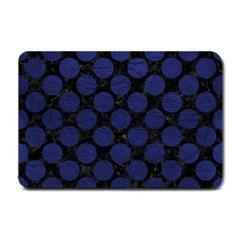 CIR2 BK-MRBL BL-LTHR Small Doormat