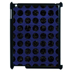 CIR1 BK-MRBL BL-LTHR (R) Apple iPad 2 Case (Black)