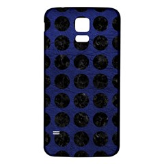 CIR1 BK-MRBL BL-LTHR (R) Samsung Galaxy S5 Back Case (White)