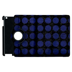 CIR1 BK-MRBL BL-LTHR Apple iPad 3/4 Flip 360 Case