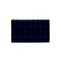 CIR1 BK-MRBL BL-LTHR Cosmetic Bag (XS)