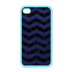 CHV3 BK-MRBL BL-LTHR Apple iPhone 4 Case (Color)