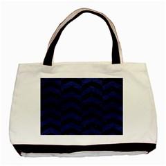 CHV2 BK-MRBL BL-LTHR Basic Tote Bag