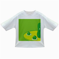 Food Egg Minimalist Yellow Green Infant/Toddler T-Shirts