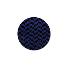 CHV1 BK-MRBL BL-LTHR Golf Ball Marker (10 pack)