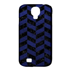 CHV1 BK-MRBL BL-LTHR Samsung Galaxy S4 Classic Hardshell Case (PC+Silicone)