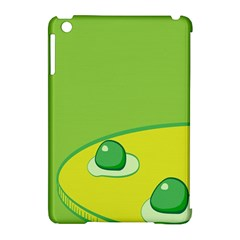 Food Egg Minimalist Yellow Green Apple Ipad Mini Hardshell Case (compatible With Smart Cover)