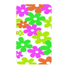 Flowers Floral Sunflower Rainbow Color Pink Orange Green Yellow Memory Card Reader