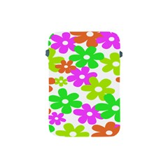Flowers Floral Sunflower Rainbow Color Pink Orange Green Yellow Apple Ipad Mini Protective Soft Cases