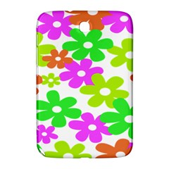 Flowers Floral Sunflower Rainbow Color Pink Orange Green Yellow Samsung Galaxy Note 8 0 N5100 Hardshell Case