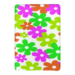Flowers Floral Sunflower Rainbow Color Pink Orange Green Yellow Samsung Galaxy Tab Pro 10.1 Hardshell Case