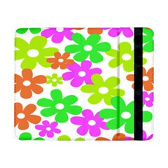 Flowers Floral Sunflower Rainbow Color Pink Orange Green Yellow Samsung Galaxy Tab Pro 8 4  Flip Case
