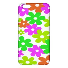 Flowers Floral Sunflower Rainbow Color Pink Orange Green Yellow iPhone 6 Plus/6S Plus TPU Case
