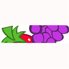 Fruit Grapes Strawberries Red Green Purple Large Bar Mats