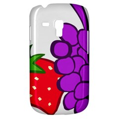 Fruit Grapes Strawberries Red Green Purple Galaxy S3 Mini