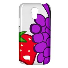 Fruit Grapes Strawberries Red Green Purple Galaxy S4 Mini