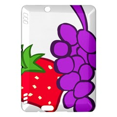 Fruit Grapes Strawberries Red Green Purple Kindle Fire HDX Hardshell Case