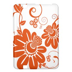 Floral Rose Orange Flower Kindle Fire HD 8.9