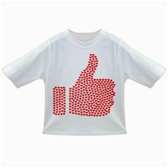 Heart Love Valentines Day Red Sign Infant/toddler T Shirts