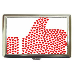 Heart Love Valentines Day Red Sign Cigarette Money Cases