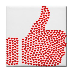 Heart Love Valentines Day Red Sign Face Towel