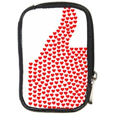 Heart Love Valentines Day Red Sign Compact Camera Cases